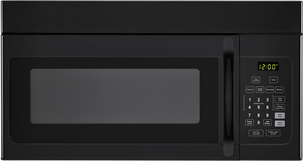 Haier Hmv1640ahb 1 6 Cu Ft Over The Range Microwave Oven