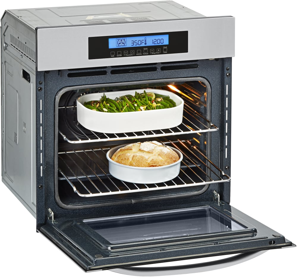Haier Hcw2360aes 24 Inch Electric Wall Oven With European