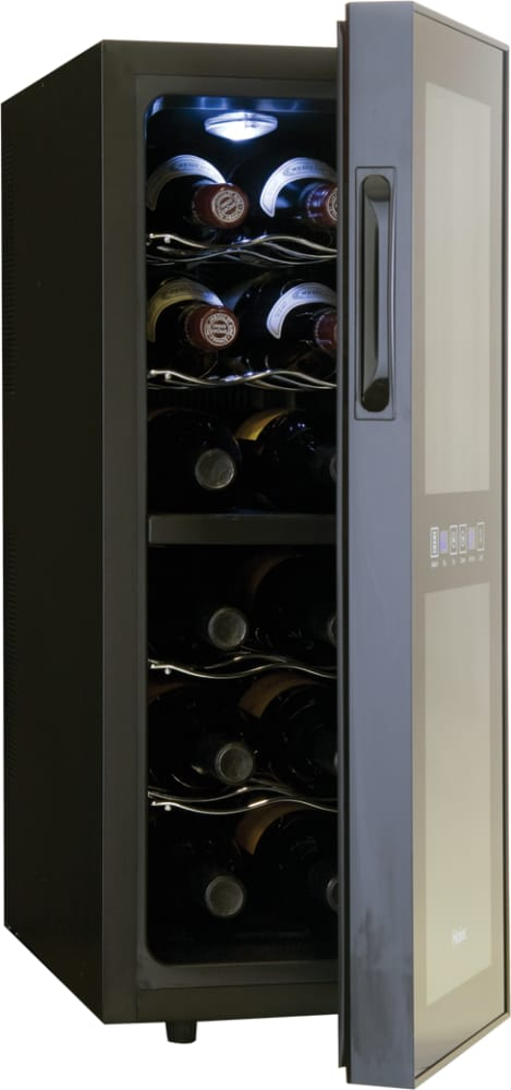 12 Bottle Wine Fridge Part - 47: ... Haier HVTEC12DABS - 12 Bottle Wine Cellar ...