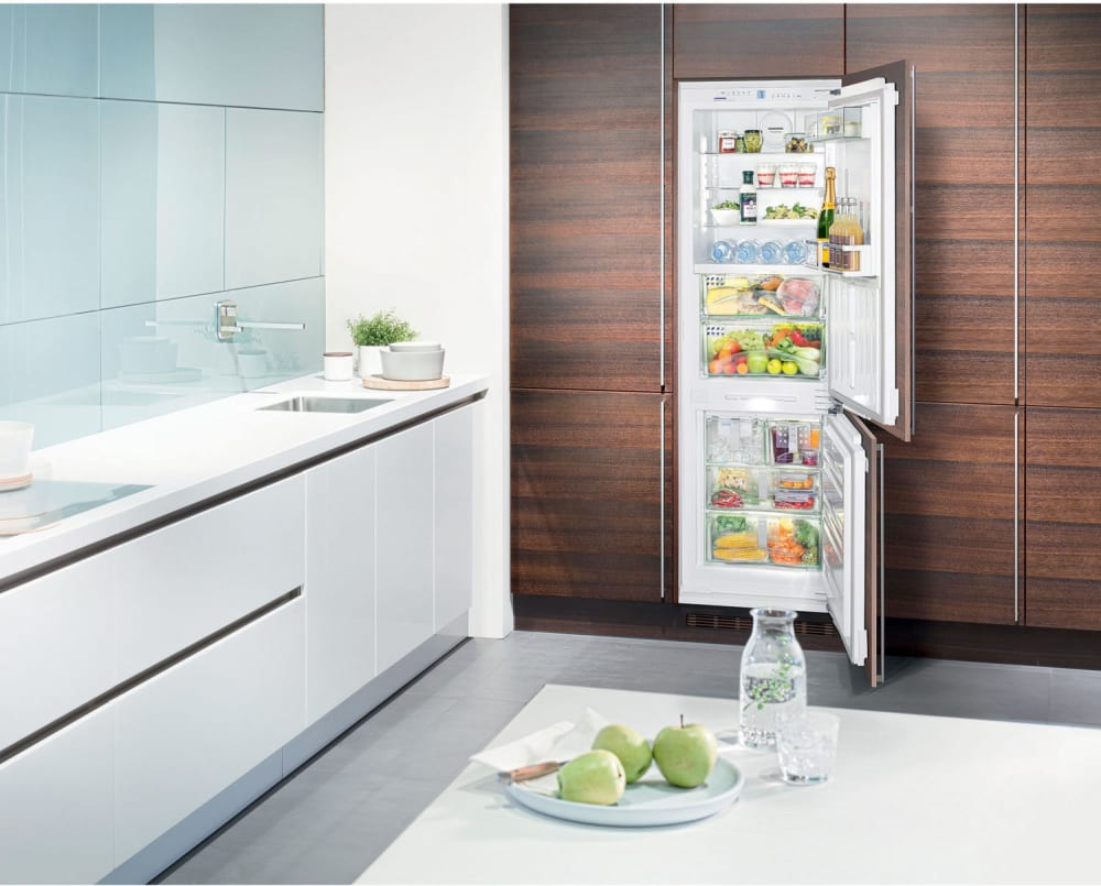 Liebherr HCB1060 24 Inch Built-in Bottom Freezer Refrigerator with ...