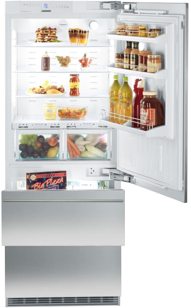 Liebherr Hcb1560 30 Inch Fully Integrated Bottom Freezer
