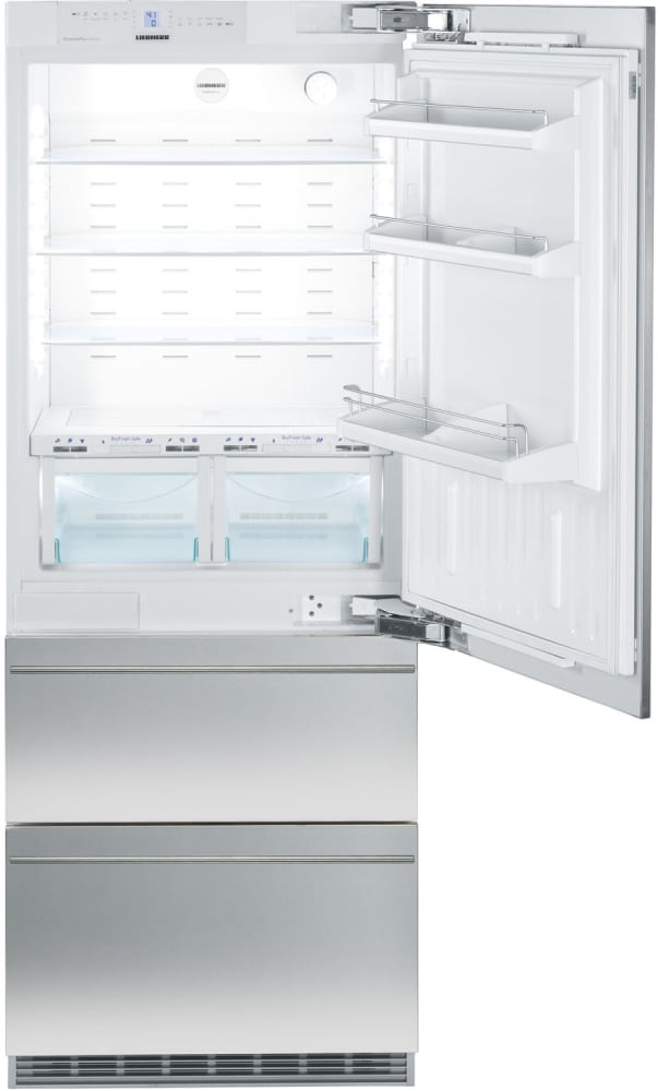 Liebherr Hcb1560 30 Inch Fully Integrated Bottom Freezer