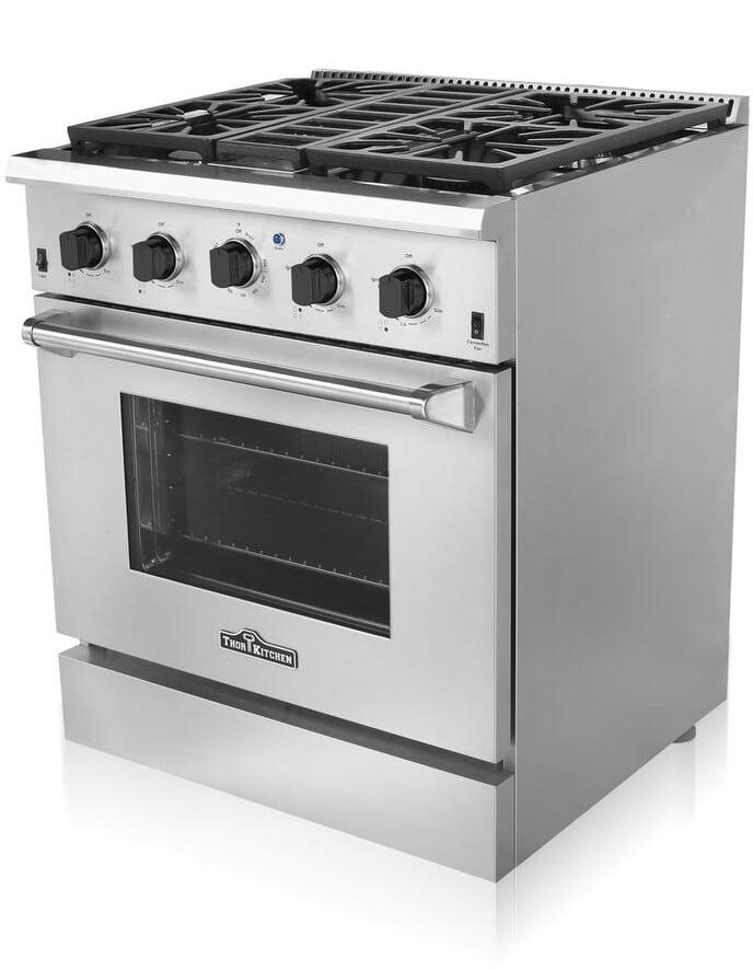 Thor Kitchen Hdm3001u 30 Inch Freestanding Gas Range With
