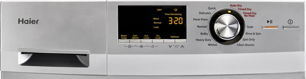 haier hlc1700axs control panel - Haier Washer Dryer Combo