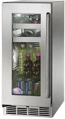 Signature Auto Sales >> Perlick HP15BS33L 15 Inch Built-in Undercounter Beverage Center with 2 Full-Extension Wine Racks ...
