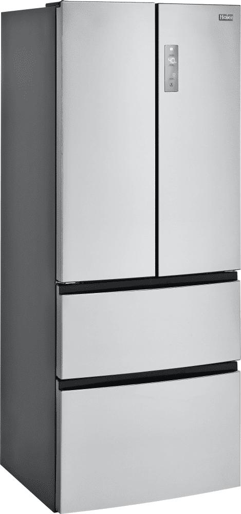 Haier Hrf15n3ags 28 Inch 4 Door Counter Depth French Door