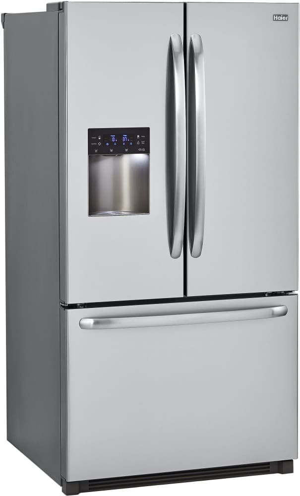 Haier Hrf24e3aps 23 5 Cu Ft French Door Refrigerator