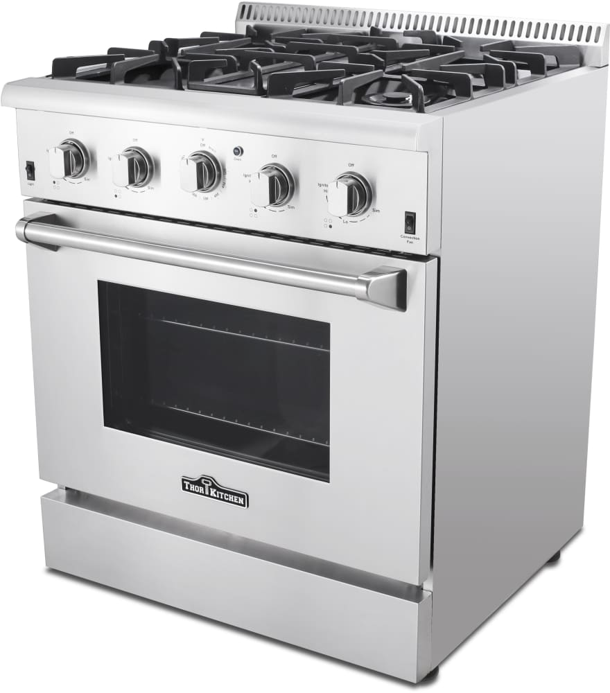Thor Kitchen HRG3080U 30 Inch Freestanding Gas Range With