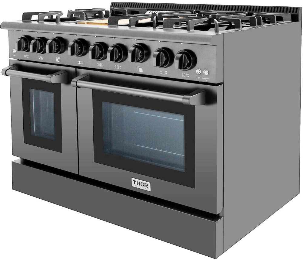 Thor Kitchen Hrg4808bs 48 Inch Pro Style Double Oven