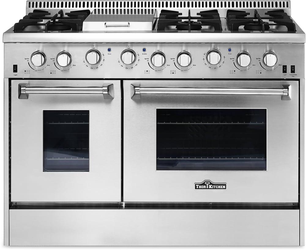Thor Kitchen TKKPRERADWRH13 4 Piece Kitchen Appliances Package with ...