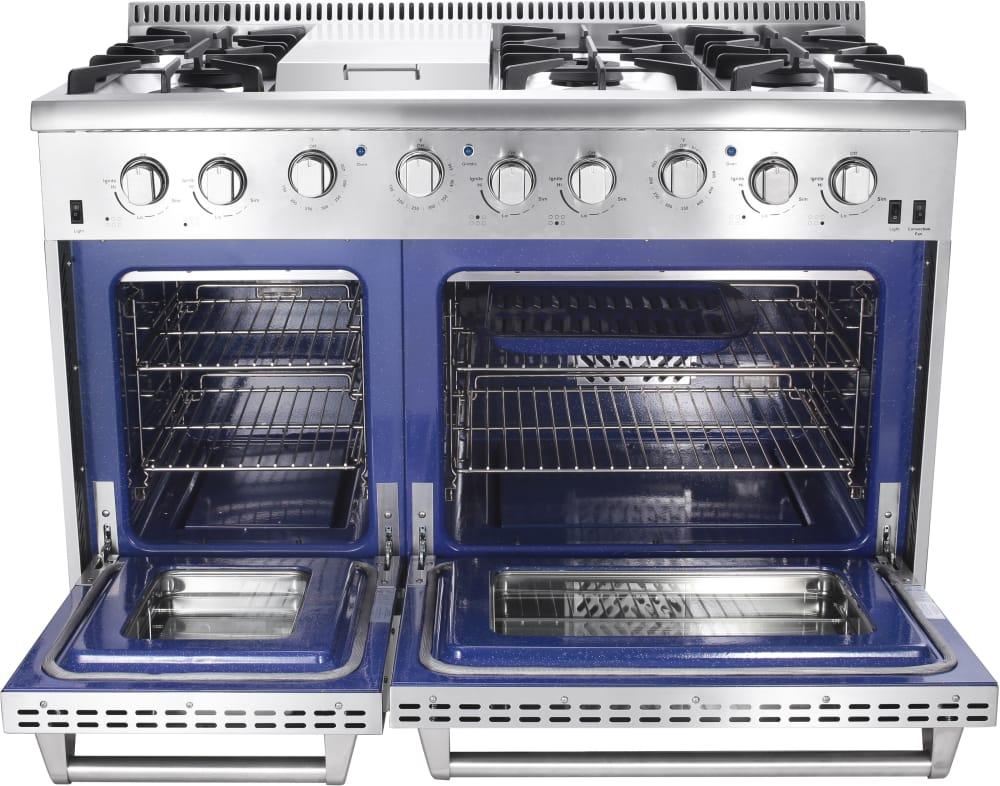 Thor Kitchen Hrg4808u 48 Inch Freestanding Gas Range With
