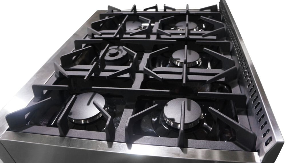 Nice ... Thor Kitchen HRT3618U   Burners