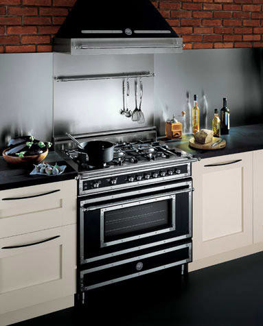 ... Bertazzoni Heritage Series H304GGVCR   Kitchen View Of 36 In. Model