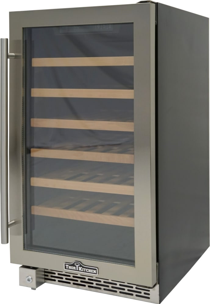 Thor Kitchen HWC2405U 18 Inch Built-In/Freestanding Wine Cooler with ...