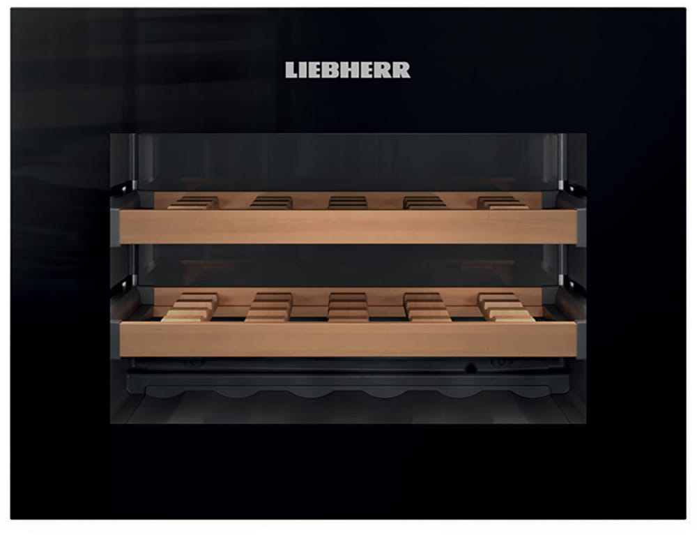 Liebherr Hwgb1803 24 Inch Built In Wine Cooler With Push