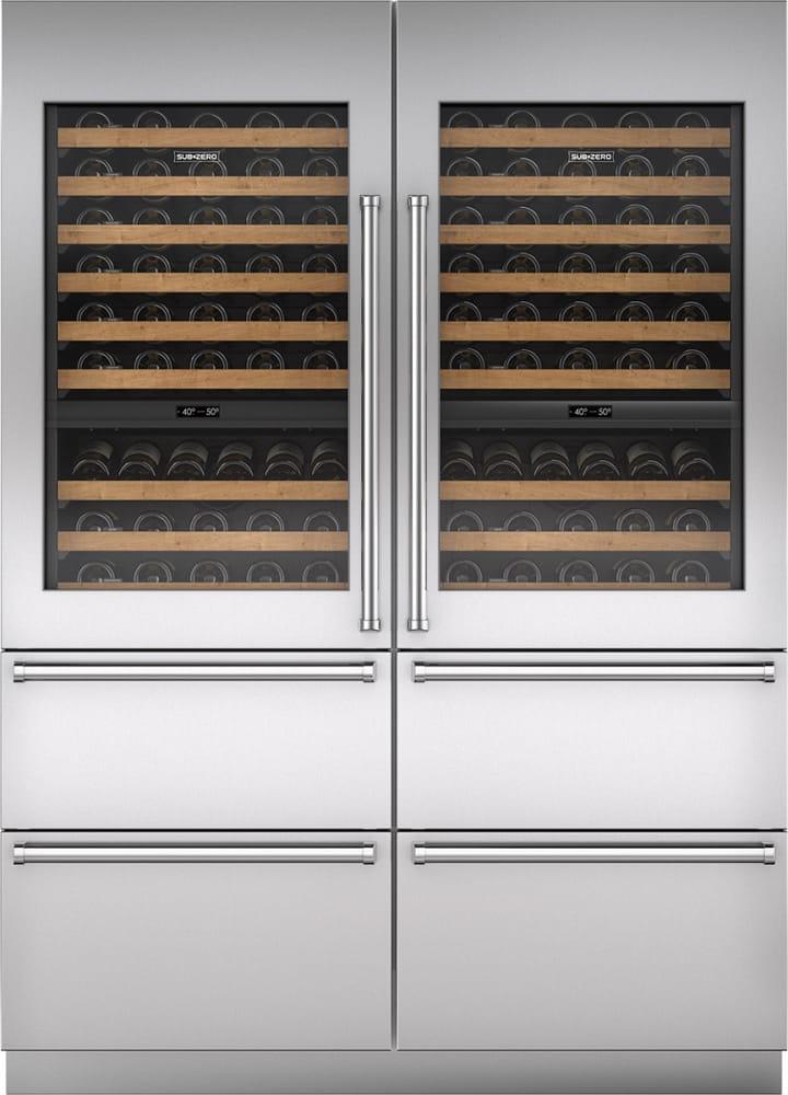 Sub Zero Iw30rlh 30 Inch Panel Ready Wine Storage With 86