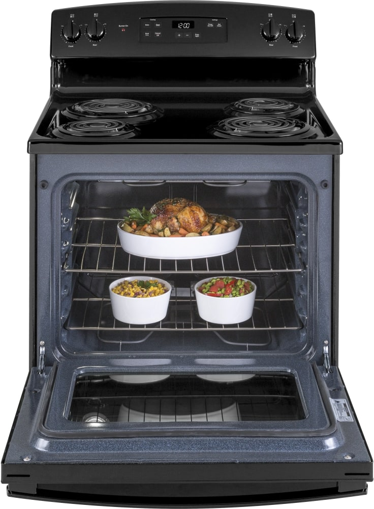 Technic Electric Oven Timer ~ Ge jbs dkbb inch freestanding electric range with dual
