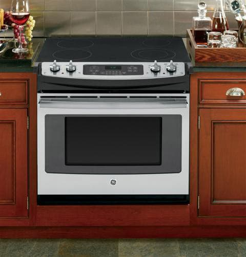 Ge Jd630sfss 30 Inch Drop In Electric Range With Dual