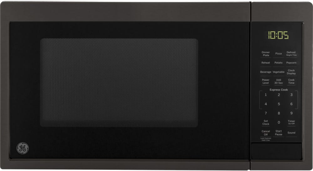Ge Jes1095bmts 0 9 Cu Ft Countertop Microwave Oven With