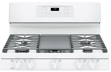 Ge Jgb700dejww 30 Inch Freestanding Gas Range With Edge To