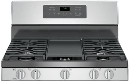 Ge Jgb700 30 Inch Freestanding Gas Range With Edge To Edge