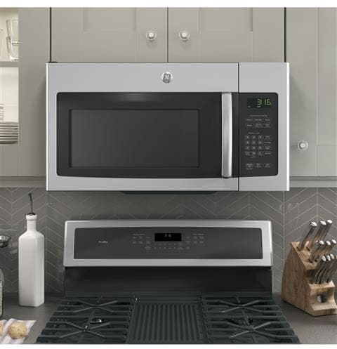 Ge Jnm3163rjss 1 6 Cu Ft Over The Range Microwave Oven