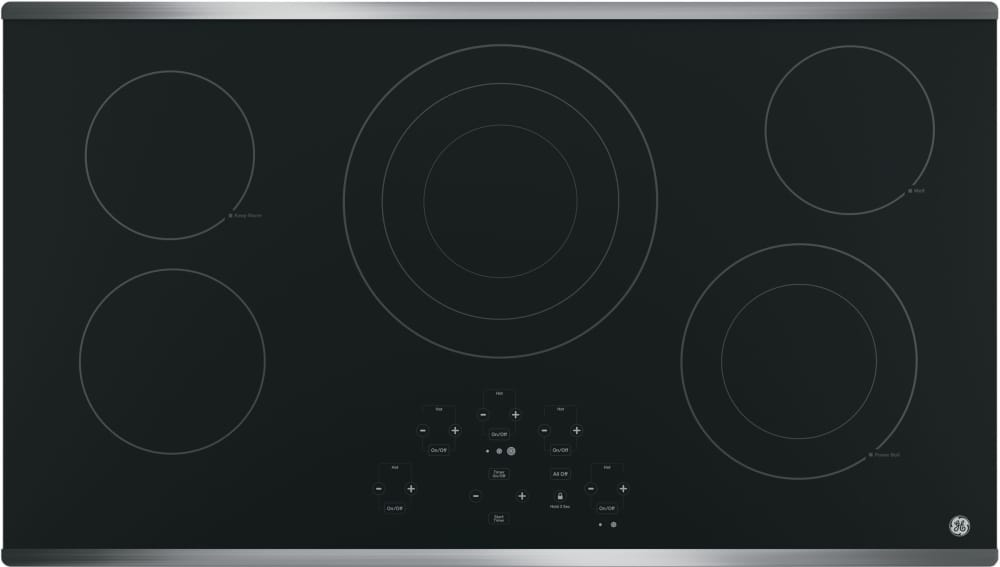 Ge Jp5036sjss 36 Inch Smoothtop Electric Cooktop With 5