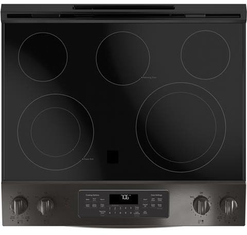 electric range top double oven electric ge js760blts cooktop 30 inch slidein electric range with true convection