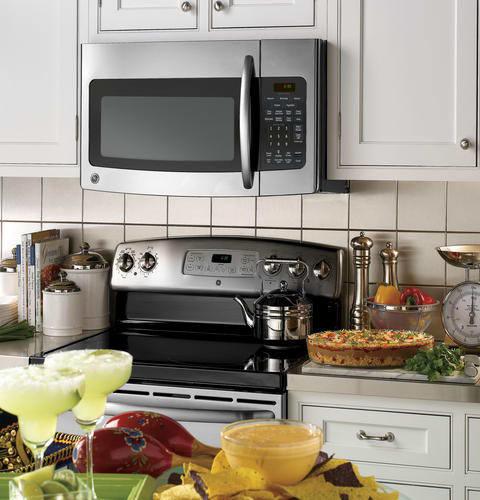 Ge Jvm1750dpww 1 7 Cu Ft Over The Range Microwave Oven