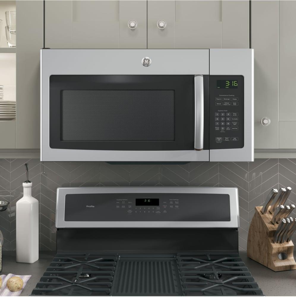 Ge Jvm3162rjss 30 Inch Over The Range 1 000 Watt Microwave