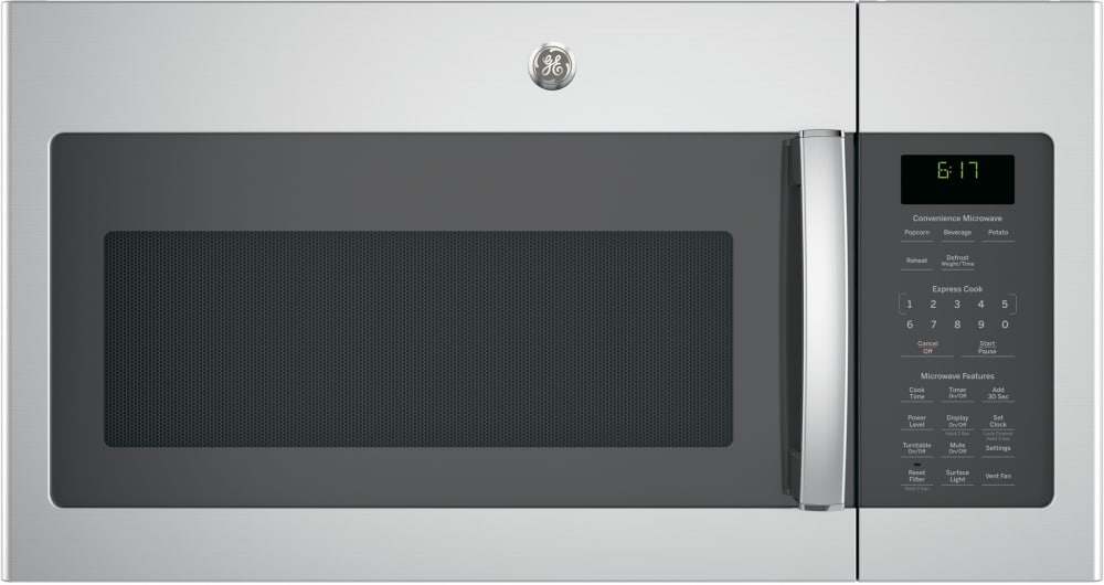 Ge Jvm6172skss 30 Inch Over The Range Microwave With 1 7