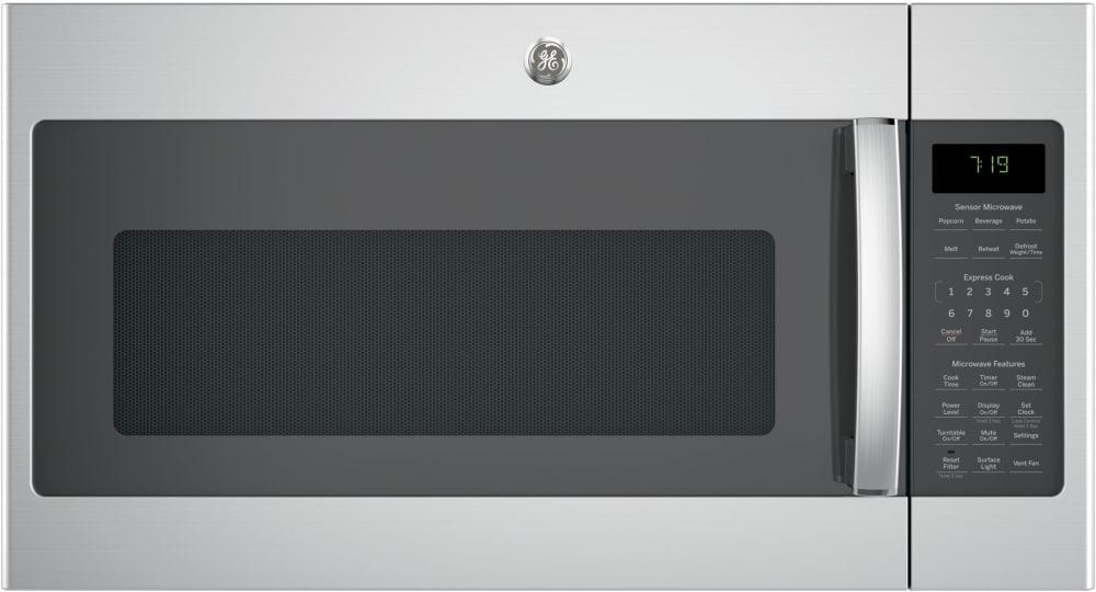 Ge Jvm7195skss 1 9 Cu Ft Over The Range Sensor Microwave Oven