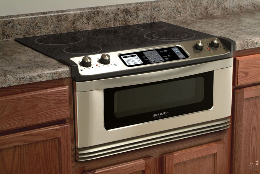 Sharp Kb5121ks 30 Inch Electric Cooktop And Microwave