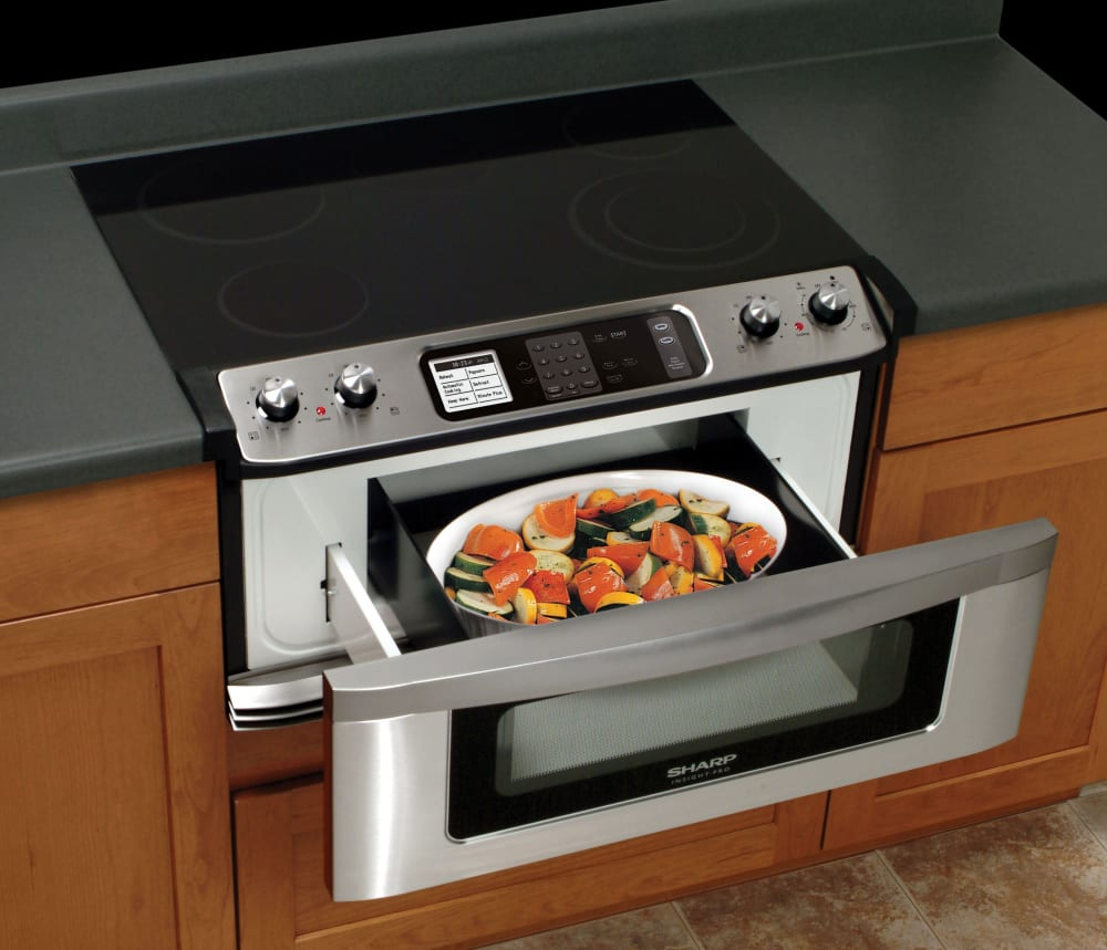 sharp oven microwave combo