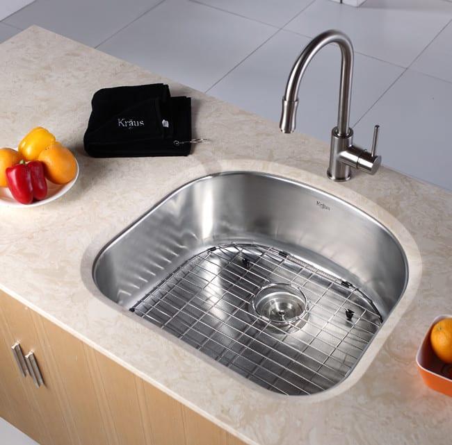 Kraus Kitchen Sink Series Kbu10 Lifestyle View