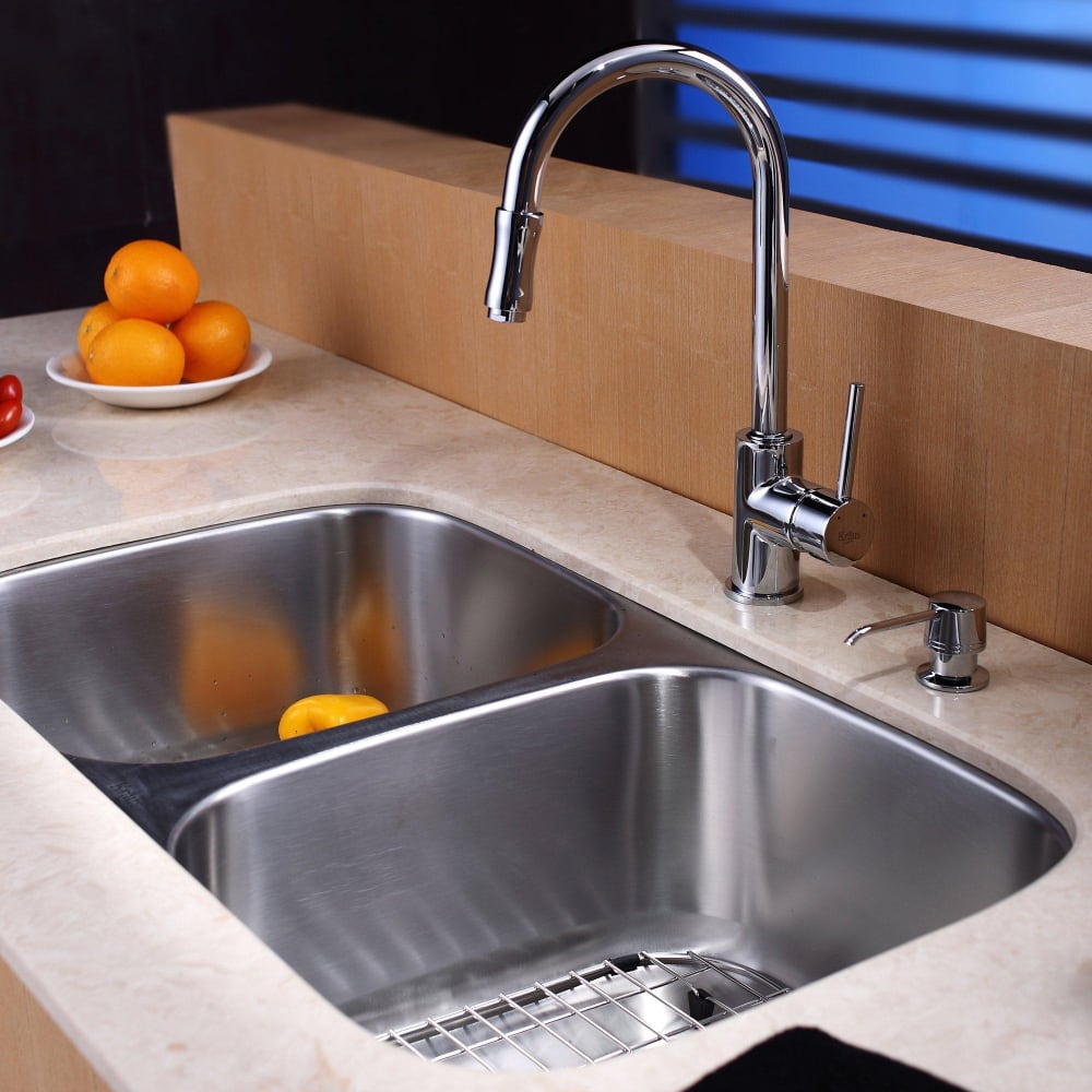 Kitchen Sink And Faucet Combinations