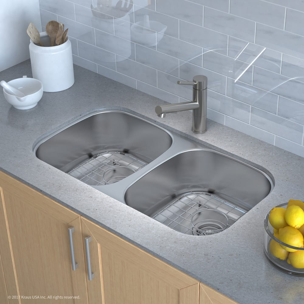 Define Kitchen Sink Kitchen Sinking Meaning Large Size Of: Kraus KBU22 32 Inch Undermount 50/50 Double Bowl Stainless