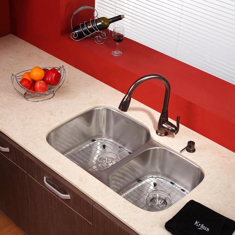 Kraus Kitchen Combo Series Kbu24kpf2230ksd30orb Lifestyle View