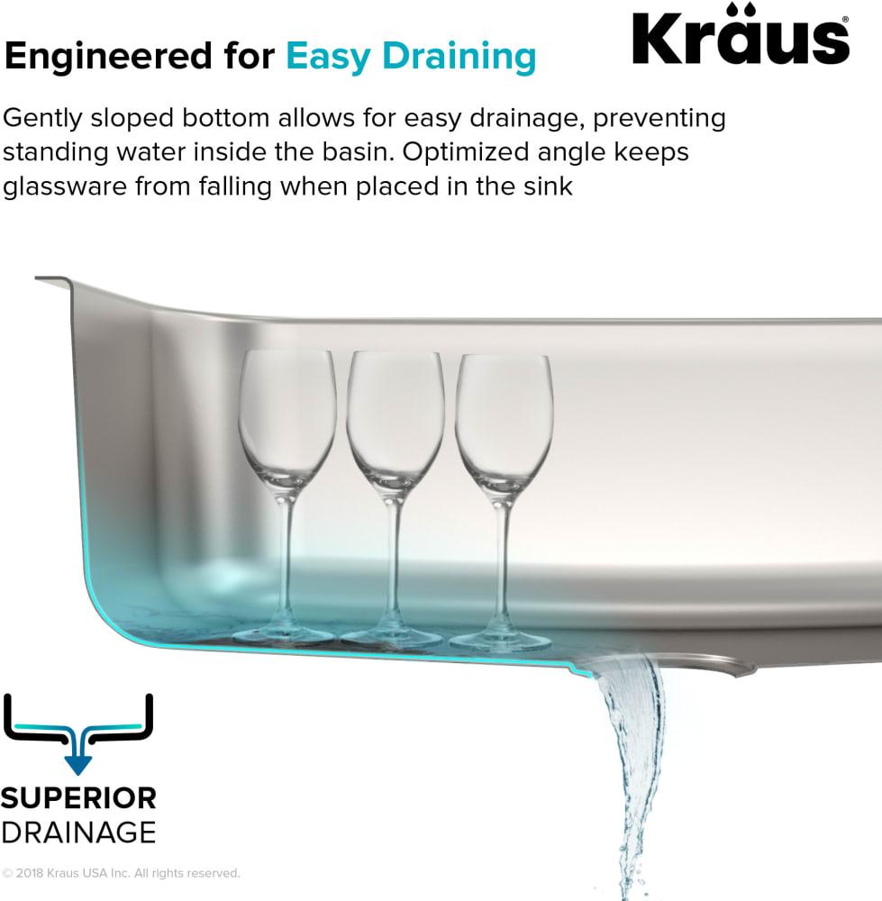 4d8d222c9f Kraus KBU29 32 Inch Premier Undermount Double Bowl Kitchen Sink Kit ...