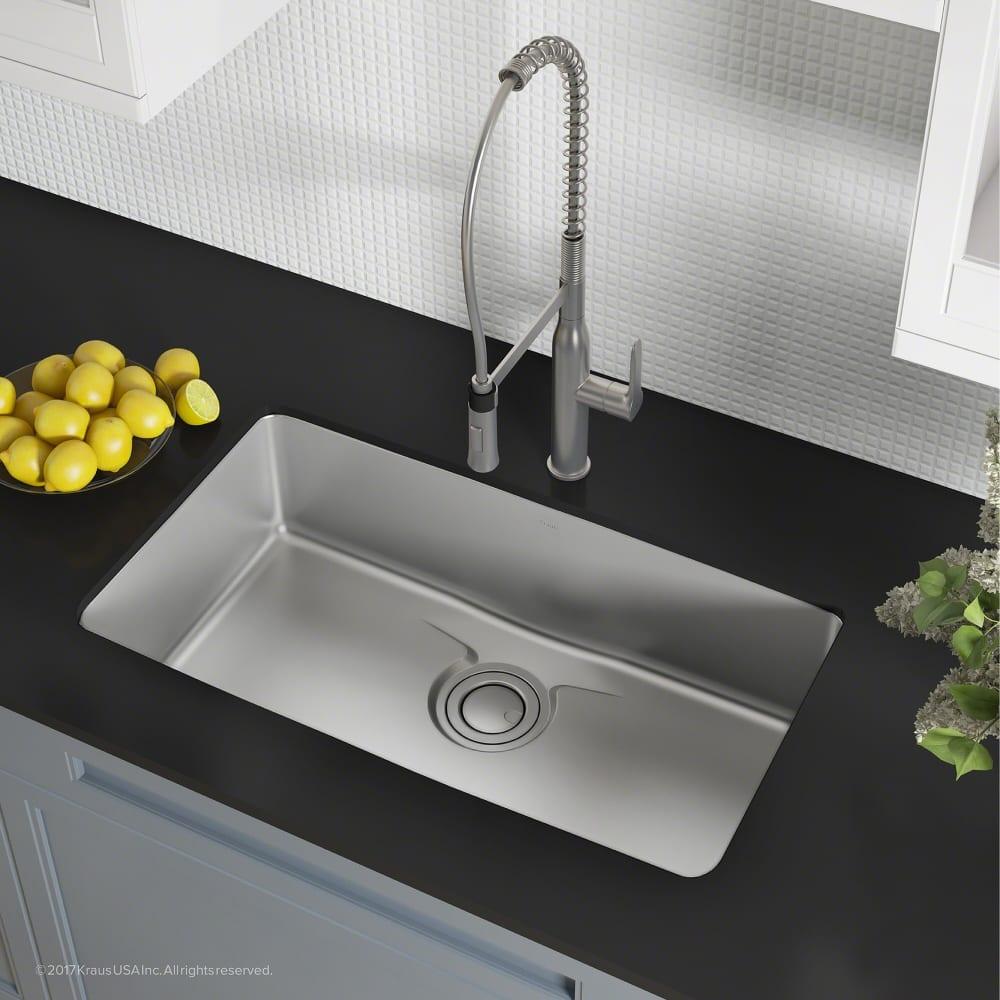 Width Of Kitchen Sink Cabinet