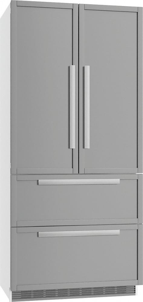Miele Kfnf9955ide 36 Inch 4 Door Built In Panel Ready French Door - Miele-grand-froid-4-door-refrigerator