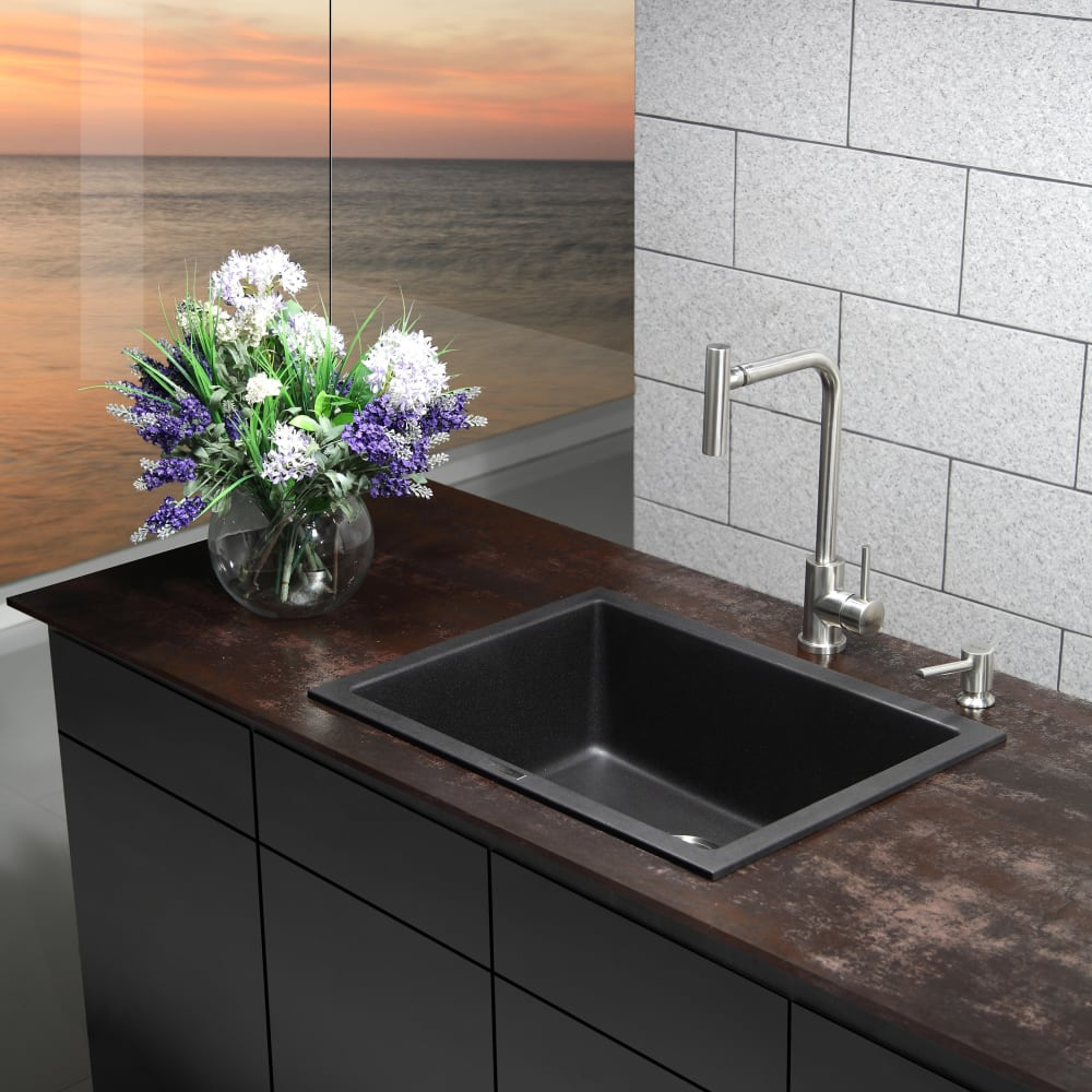 Kraus Kgd410b 24 Inch Dual Mount Single Bowl Granite. Decorative Wall Hangings For Living Room. How To Arrange Living Room. Living Room Decorating Ideas Grey Couch. Colour Schemes For Living Rooms With Black Sofa. Bob Furniture Living Room. How To Arrange Furniture In A Small Living Room With Fireplace. Easy Decorating Ideas For Small Living Rooms. Cheap Living Room Rugs