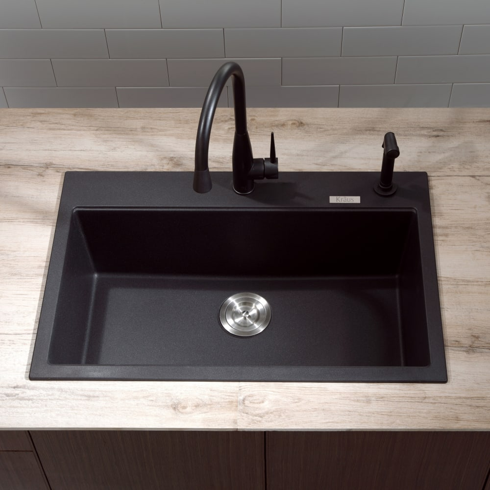 Black Granite Kitchen Sinks Home Design Ideas