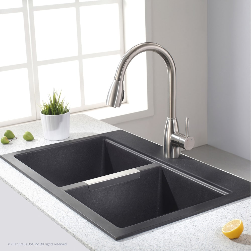 Width Kitchen Undermount Sink With  Or  Holes