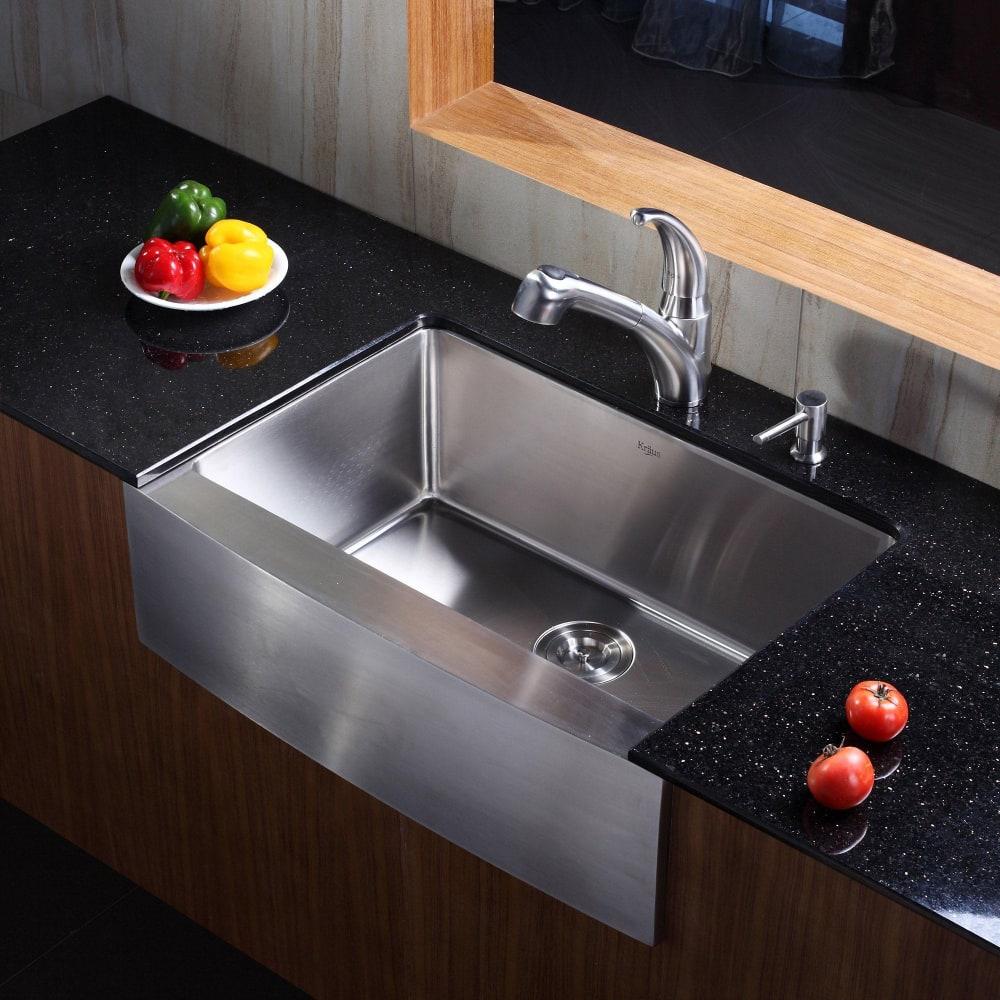 Kraus Kitchen Combo Series Khf20030kpf2110sd20 Lifestyle View