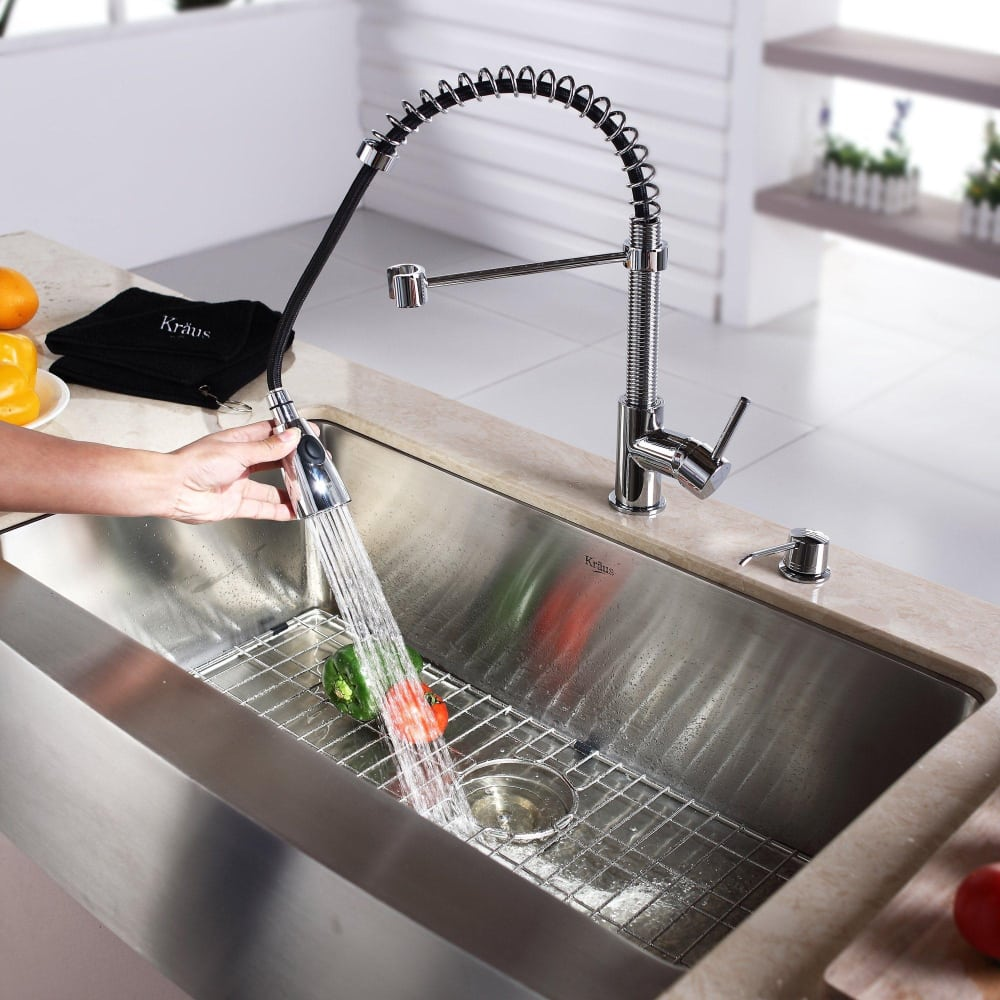 Kraus Kitchen Combo Series Khf20033kpf1612ksd30ch Lifestyle View