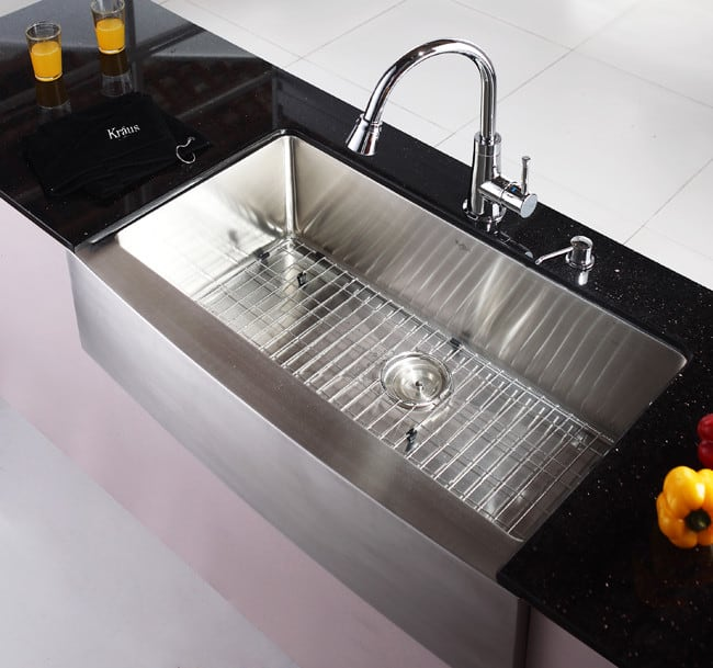 ... Kraus Kitchen Sink Series KHF20036   Lifestyle View