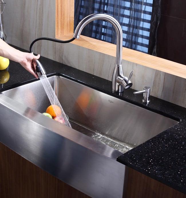 good Kraus Kitchen Sink #7: ... Kraus Kitchen Sink Series KHF20036 - Lifestyle View ...