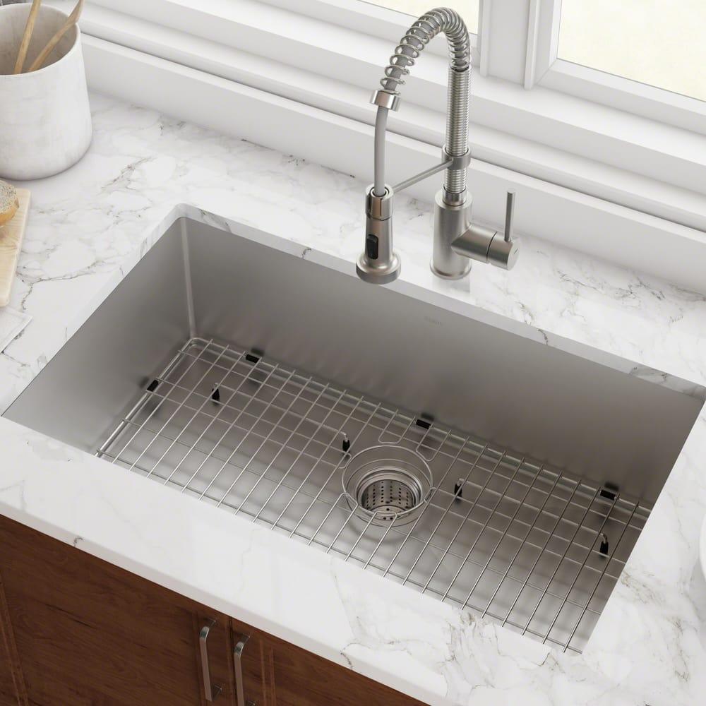 B Q Kitchen Sinks Stainless Steel