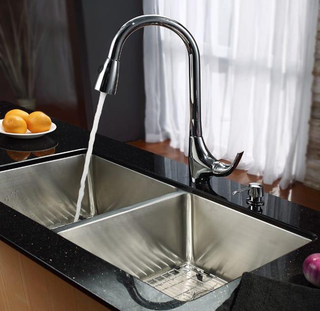 Kraus Kitchen Sink Series Khu10233 Lifestyle View